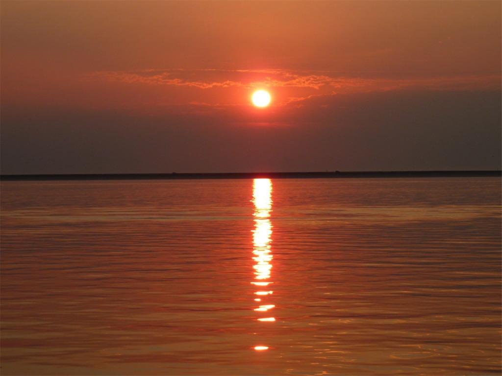 Lemmer-Sonnenuntergang