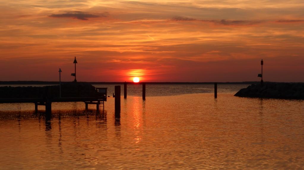 Sonnenuntergangglowe