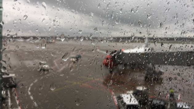 am Flughafen Düsseldorf