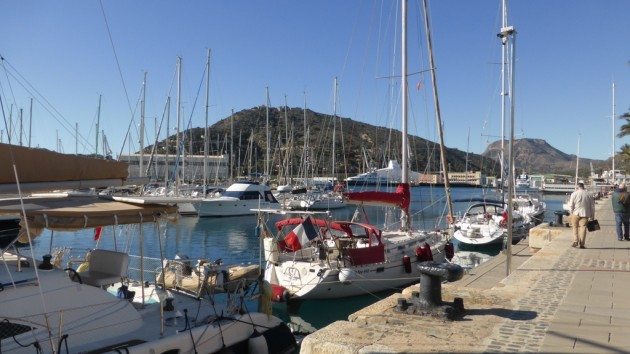 Yachthafen Cartagena