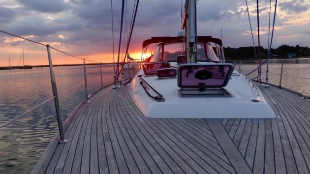 Sonnenuntergang im Korshavn