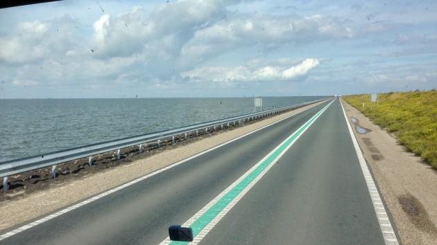 Abschlußdeich zwischen Isslmeer und Marker Ward