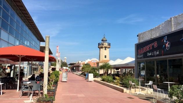 am Yachthafen Castellón