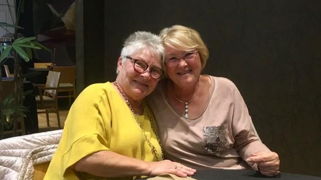 Claudia und Susanne auf CP Marjal