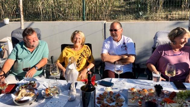 Party bei Claudia und Rainer