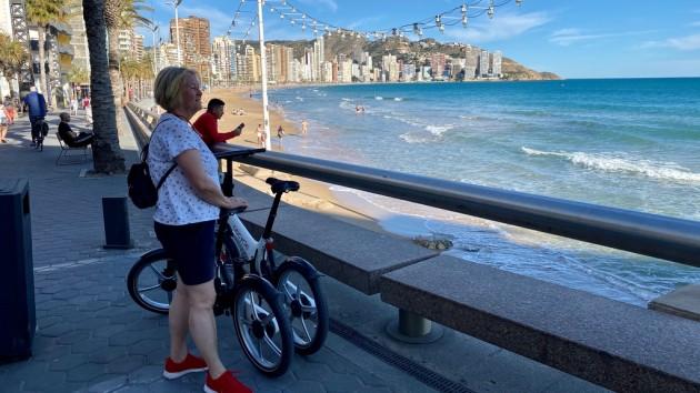 Fahrradtour durch Benidorm